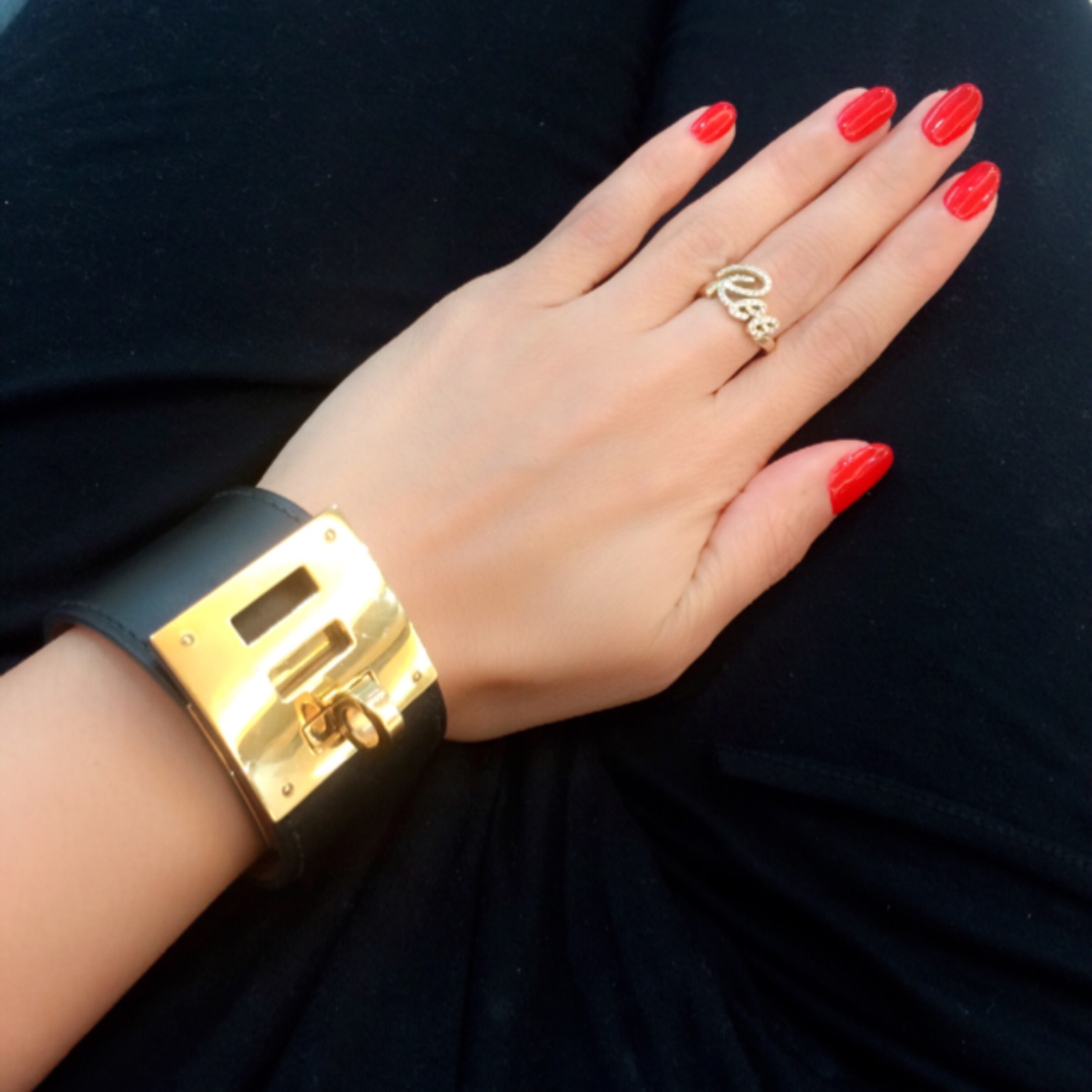 My bold statement bangle