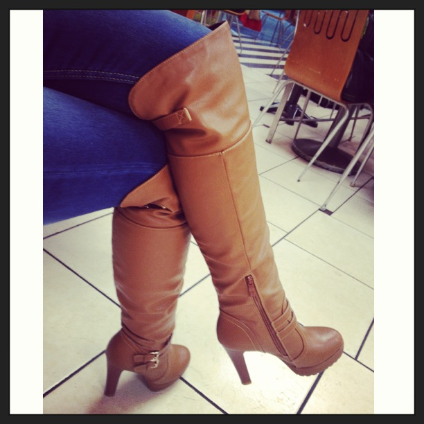 Boots with heels