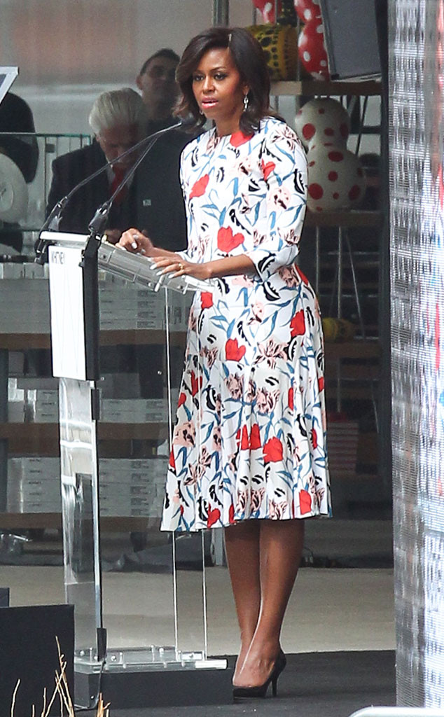 Michelle Obama di pembukaan Whitney Museum of American Art di New York