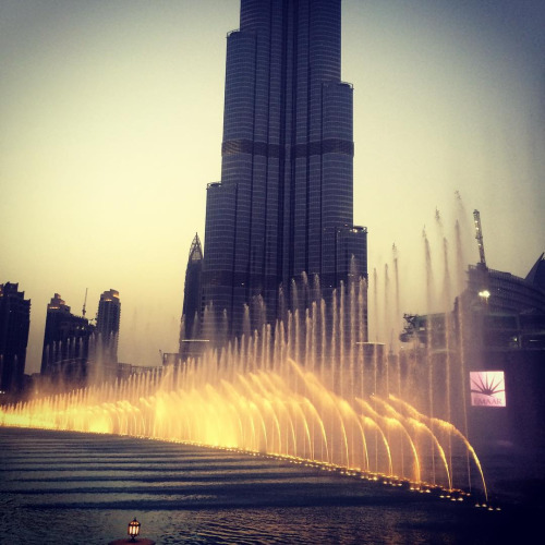 This dancing fountain is so fun!