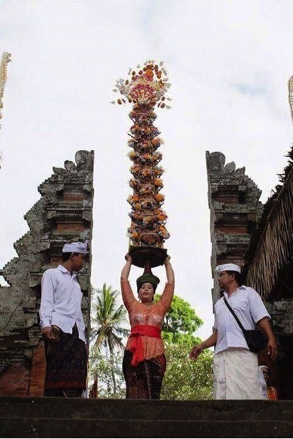 This photo speaks for itself. Only in Bali and this is so amazing.