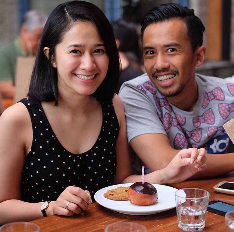 My super sweet couple friends, Ario and Nucha.