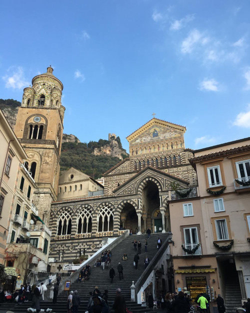 Beautiful old town in Amalfi. Another must-go place in Italy.