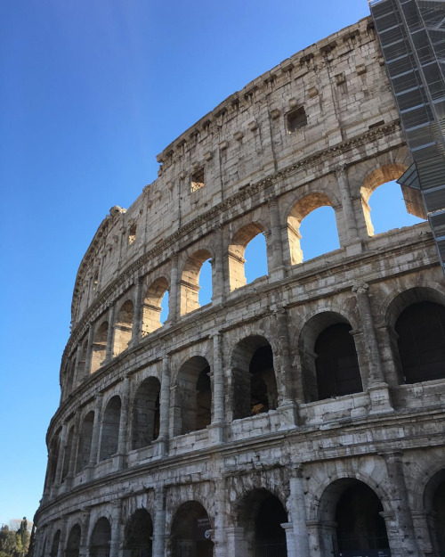 The majestic Colosseum