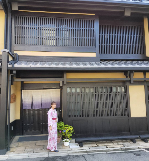 In front of our Ryokan