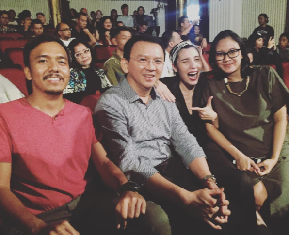 Ternyata Ahok Slanker! Photo: @ciscabecker.