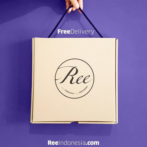 Yaay, free delivery!