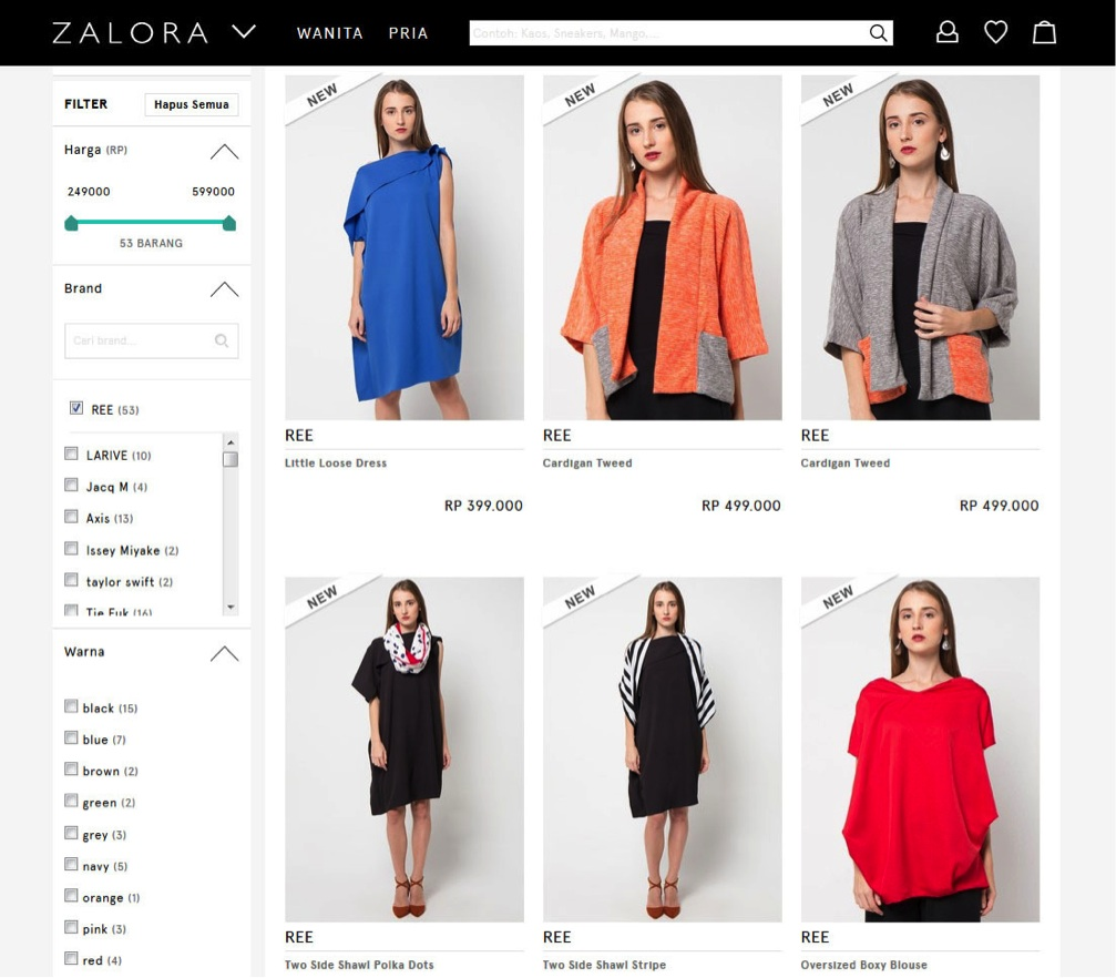 Tap image to go to REE's page on Zalora