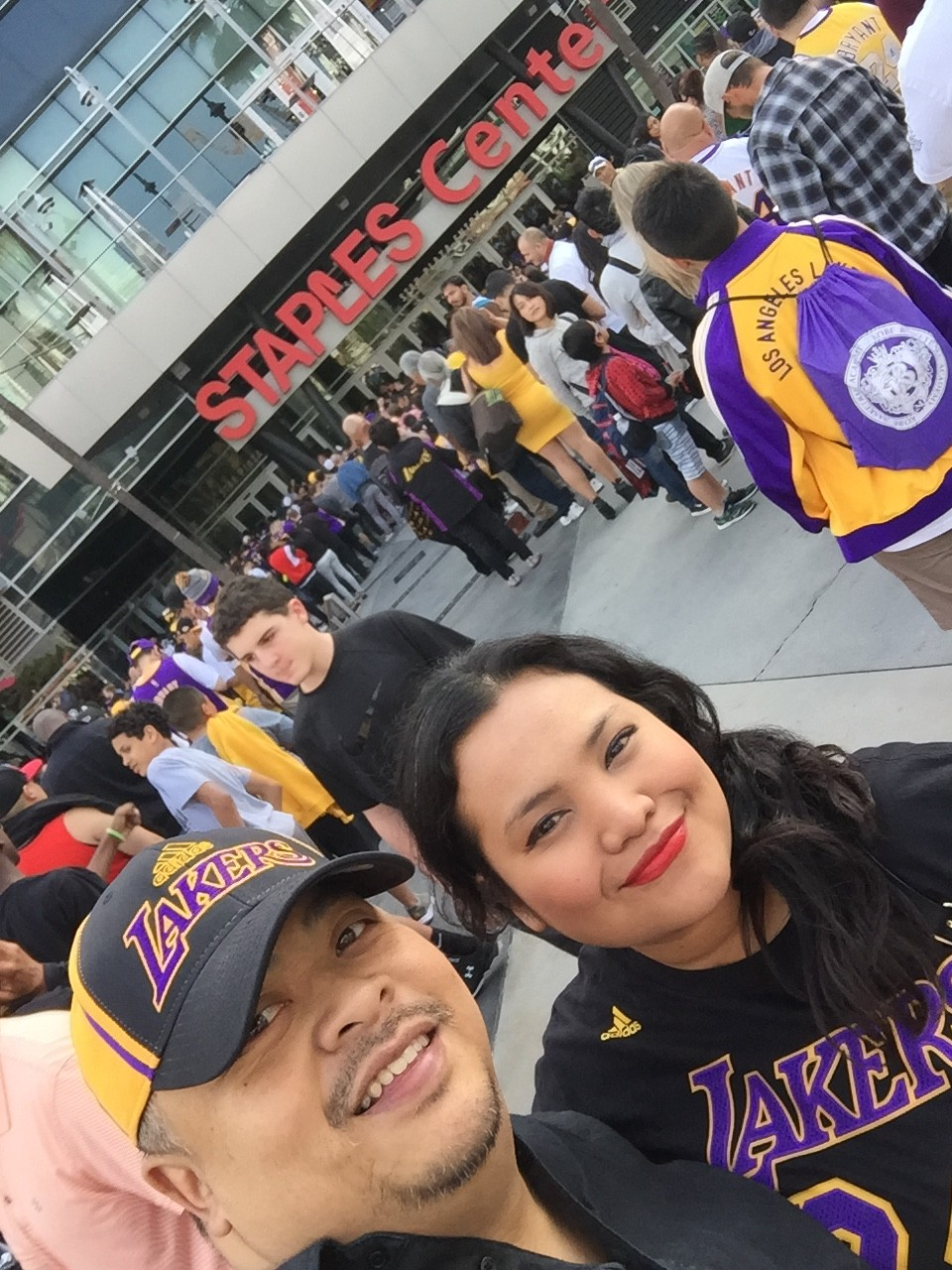 Getting to know Arie means getting to know his favorite basketball team, Lakers!