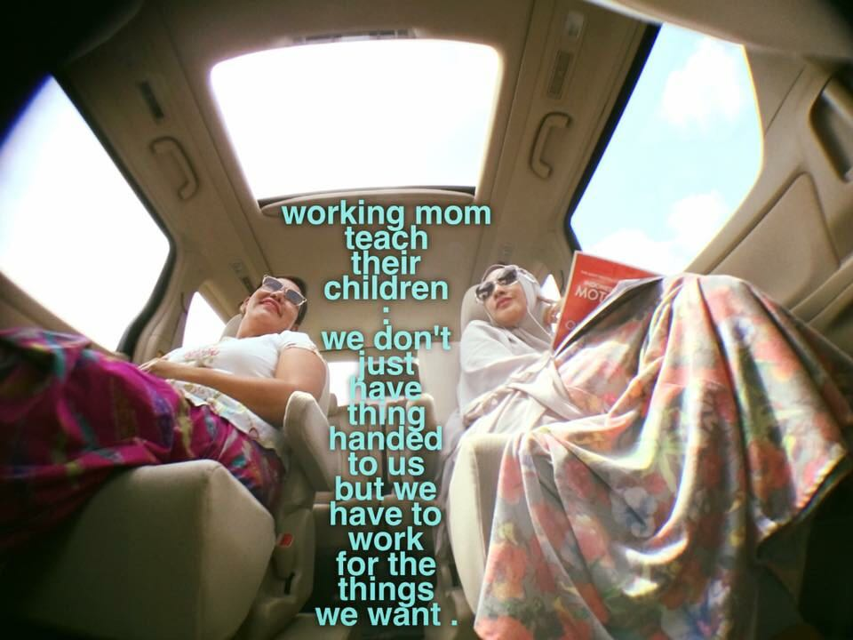 Dedicated to all working moms