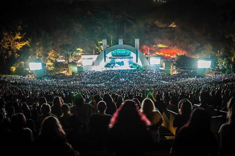 Hollywood Bowl full house! (Photo: @nktob)