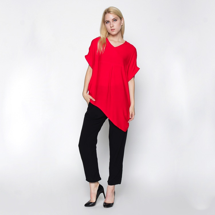 asymmetrical blouse copy