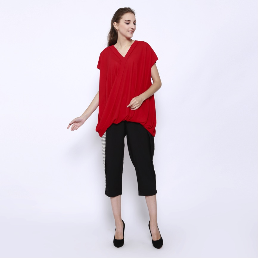long drapped blouse copy