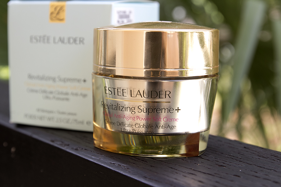 Estée Lauder's latest product, Revitalizing Supreme Global Anti-Aging Power Soft Cream!