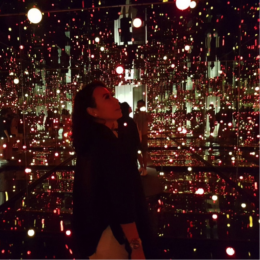 "Infinity Mirrored Room – ""Gleaming Lights of the Souls"" (2008)"