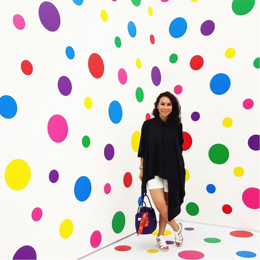 The dotty universe of Yayoi Kusama.