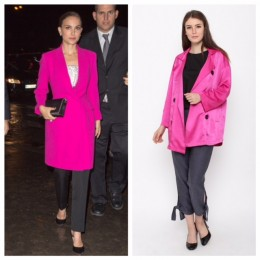 Colorful Celebrity-Inspired Work Outfit