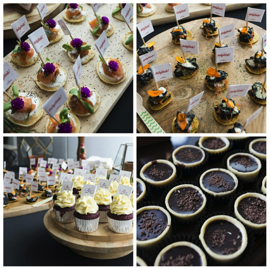 The yummy and fabulous-looking food for our guests.