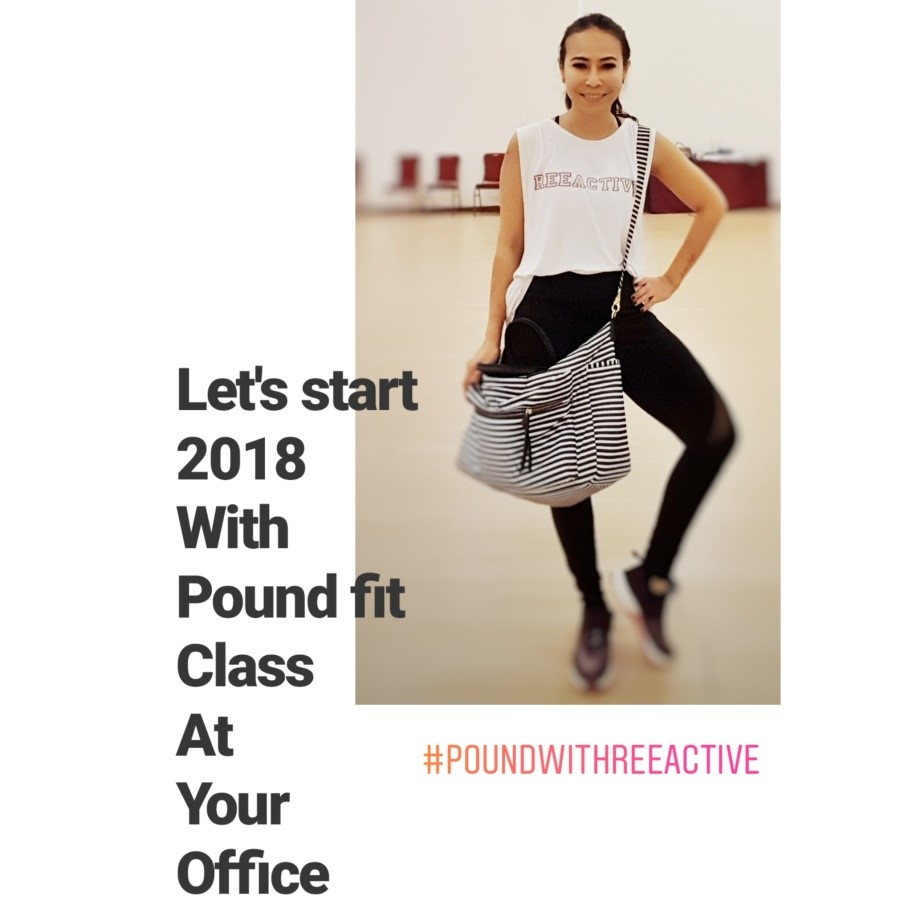 start 2018 with Pound Fit