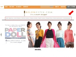 BelowCepek.com new look